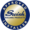 Swish approved installer logo in colour